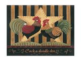 Cock-A-Doodle-Doo Prints by Jo Moulton