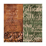 Coffee in Any Language Poster by Lisa Wolk