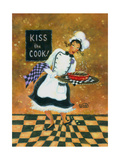 Kiss the Cook Posters by Vickie Wade