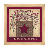 Live Simply Art by Cindy Shamp