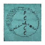 Peace Sign Prints by Anna Quach