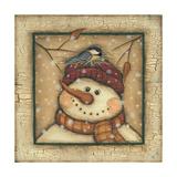 Snowman II Prints by Kim Lewis