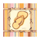 Bamboo Flip Flop I Art by Kathy Middlebrook