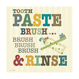 Tooth Paste Poster by Jo Moulton