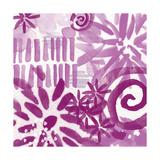 Floral VI Print by Linda Woods