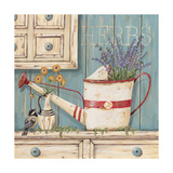 Herbs Premium Giclee Print by Jo Moulton