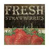 Fresh Strawberries Prints by Jennifer Pugh