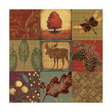 Teton Tapestry II Posters by Jo Moulton
