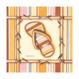 Bamboo Flip Flop III Prints by Kathy Middlebrook