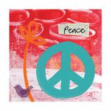 Frieden Kunstdrucke von Linda Woods