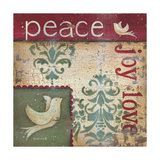 Peace Joy Love Posters by Kim Lewis