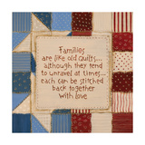 Family Quilts Prints by Karen Tribett