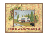 Home Is Where You Hook Up Art by Anita Phillips