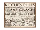 Kitchen Rules Kunstdrucke von Stephanie Marrott