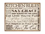 Kitchen Rules Prints by Stephanie Marrott