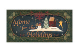 Home for Holidays Art by Jo Moulton