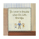 I'm Never in Trouble Posters by Karen Tribett