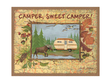 Camper Sweet Camper Posters by Anita Phillips