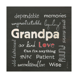 Grandpa Love Posters by Karen Tribett