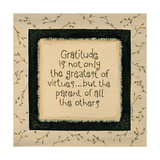 Gratitude Prints by Karen Tribett