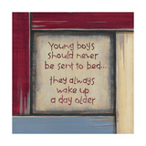 Young Boys Prints by Karen Tribett