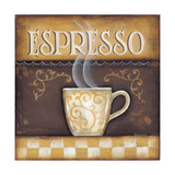 Espresso Poster by Kim Lewis