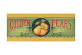 Golden Pears Prints by Kim Lewis