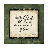 Draw Near to God Art by Jennifer Pugh