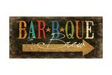 Jo Moulton - Bbq and Brew Plakát
