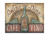 Wine and Dine Prints by Kim Lewis
