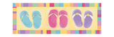 Flip Flops Prints by Stephanie Marrott