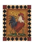 Red Rooster II Posters by Kim Lewis