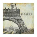 París Láminas por Stephanie Marrott