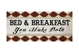 Bed and Breakfast Prints by Jennifer Pugh