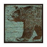 Lodge Bear Prints by Stephanie Marrott