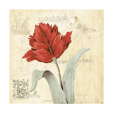 Tulip Gem II Poster by Jo Moulton