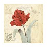 Tulip Gem II Poster by Jo Moulton