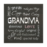 Grandma Love Prints by Karen Tribett