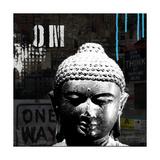 Urban Buddha I Art by Linda Woods