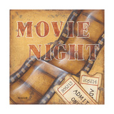 Movie Night Posters by Kim Lewis