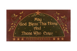 May God Bless This Home Posters by Jo Moulton