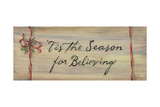 Tis the Season for Believing Posters by Karen Tribett