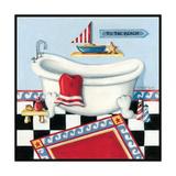 Nautical Bath I Prints by Kathy Middlebrook