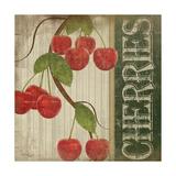 Cherries Print by Jennifer Pugh