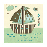 Boat East Posters by Jo Moulton