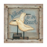 Welcome to the Beach Prints by Kim Lewis