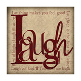Laugh and Other Sentiments Prints by Lisa Wolk