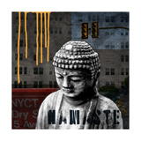 Urban Buddha III Posters by Linda Woods