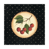 Five Cherries Prints by Kim Lewis