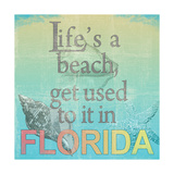 Life's a Beach Posters by Lisa Wolk
